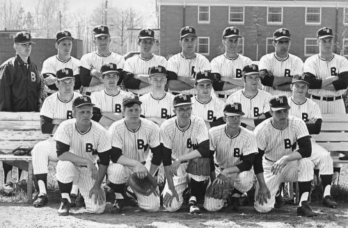 1968 B-W Baseball Team